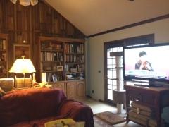 Living room short wall